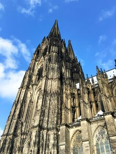 Kölner Dom - city guide for Cologne by May Mail Cards Dom, Cologne, Cathedral, City Guides, Building, Travel, Cards, City, Viajes
