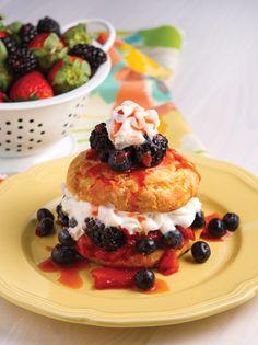 Three Berry Shortcake • Louisiana Life Magazine • March/April 2014