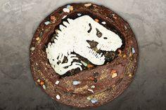 Jurassic World Fossil Dinosaur Cake