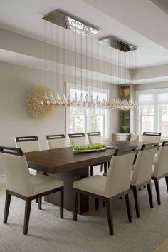 Chatham Retreat Marthas Vineyard Interior Design. The Stunning Pendant  Lights Hanging Over The Dining