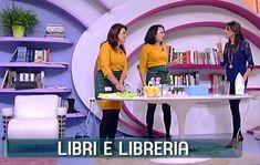 Come pulire libri e scaffali | Titty e Flavia, esperte di economia domestica e cura della casa, spiegano come pulire libri e scaffali con miscele naturali