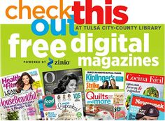 Free Digital Magazines @ Tulsa City County Library