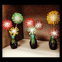 My version of the flower bursts from Anthropologie. Thanks Pinterest!
