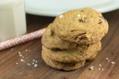 SALTED BROWNED BUTTER CHOCOLATE CHIP COOKIES (GLUTEN FREE!) from Ava's Kitchen