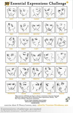 Expressions Challenge Accepted by *StyrbjornA on deviantART