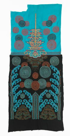Textile  Textile by Sarah Lipska  (Polish, 1882–1973), Silk, metal, 1920-29