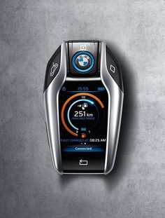 The BMW i8 intelligent key, a first of its kind