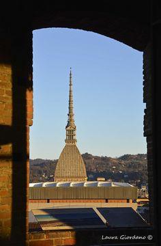 La Mole Antonelliana vista da Palazzo Madama