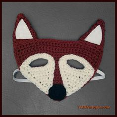 For anyone who has a little one who loves to play dress up, this fox is so fun to expand their imagination!Just in time for Easter, these are perfect for masquerade play, character building, and p…