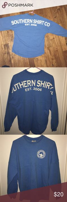 Southern Shirt Company spirit jersey Great condition, hardly wore. Comfy and cozy! The Southern Shirt Company Tops Sweatshirts & Hoodies