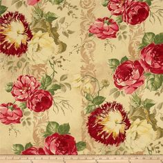 Robert Allen Promo Lodevole Blend Pongee from @fabricdotcom  This medium weight cotton/linen blend fabric is appropriate for window treatments, accent pillows and upholstery. Colors include red, pink, green, tan, beige, yellow and deep khaki.
