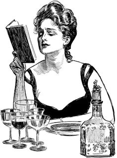 ≒ Gibson Girls ≓ Illustrations from the Belle Époque - Charles Dana Gibson.