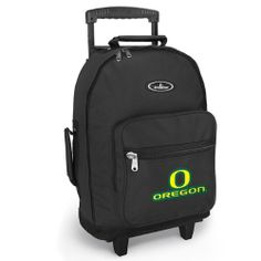 University of Oregon Rolling Backpack UO Ducks - Wheeled Travel or School  Bag Carry-On f0d7b24e49d7d