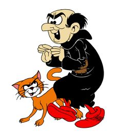 Gargamel o Gárgamel es el antagonista y villano principal de la clásica serie de cómic Los pitufos.