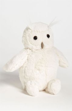 Jellycat 'Woodland Owl' Stuffed Animal | Nordstrom This would make a great first stuffed animal for a baby