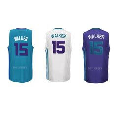 Aliexpress.com : Buy 2015 High Quality Men Charlotte #15 Kemba Walker Jersey, Stitched Kemba Walker Basketball Shirt White Purple Teal, S XXL from Reliable shirt spain suppliers on Sky Jersey  | Alibaba Group