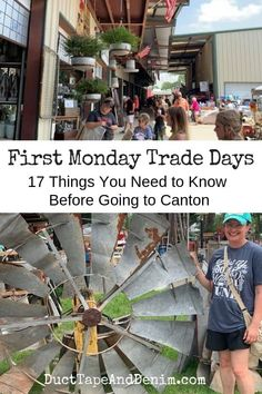 Canton First Monday Trade Days: 17 things you need to know before shopping the largest flea market in the United States. Canton Tx Trade Days, Canton Texas, Texas Roadtrip, Texas Travel, Canton Flea Market, Canton First Monday, Family Vacations In Texas, The Buckeye State, Flea Market Style