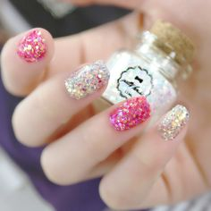 GLITTER!!!!!!!!!!!!!!!!!!!!!! Perfect for spring and summer