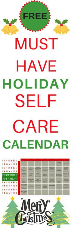 HOLIDAY SELF CARE CALENDAR - Radical Transformation Project