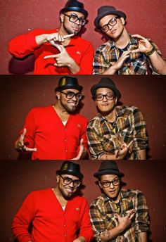 30/12/14 - Bruno Mars and Phillip Lawrence - luv dem both! xx