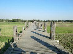 U- Bein- Bridge, Amarapura, Myanmar Amarapura, Inle Lake, Yangon, Mandalay, Bridge, Wings, Sidewalk, Album, Sunset