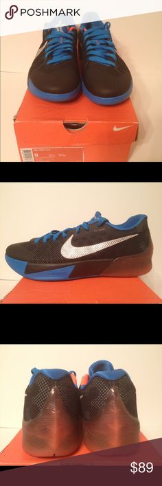 8ac85924255b Shop Men s Nike Blue size 9 Athletic Shoes at a discounted price at  Poshmark.