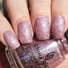 China Glaze You're Too Sweet swatched by Olivia Jade Nails