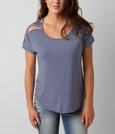 BKE red Solid Top - Women's Shirts/Blouses | Buckle