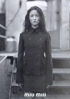 Audrey Marnay for Miu Miu Fall 1997