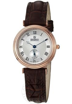 Price:$247.50 #watches Grovana 3276.1568, Grovana is a firm that has made a name for itself in the Swiss watch making industry through innovation and flexibility. Up to the 1970s it made mechanical watches that were always state of the art.