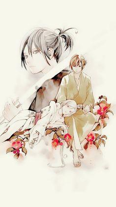 Noragami Yato and Yukine Noragami Anime, Bishamonten Noragami, Manga Anime, Yato And Hiyori, Manga Art, Anime Art, Anime Kimono, Fanart, Chibi