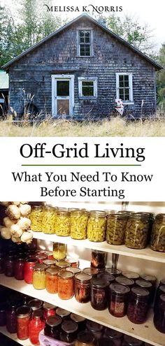 Off grid living is a concept to consider when attaining a self sustainable homestead. We're talking about just what it takes to go from city life to off-grid. Everything you need to know to DIY. Off Grid Survival, Survival Prepping, Survival Skills, Survival Gear, Emergency Preparedness, Survival Clothing, Emergency Preparation, Survival Shelter, Off Grid House