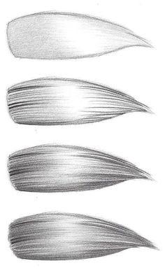 paso 4 para aprender a dibujar cabello de mujer