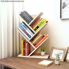 Shelves Pallet Tolland 3 Tier Shelf Display Ladder Bookcase - The open layer design of this shelving storage cabinet makes it ideal for small items, such as toys, pens, plants. The design makes it good decoration. Diy Wood Projects, Woodworking Projects, Youtube Woodworking, Woodworking Plans, Woodworking Classes, Woodworking Jointer, Workbench Plans, Woodworking Patterns, Woodworking Workbench