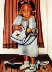 AFRICAN AMERICAN ART PRINT A Gift From God Poem Fred Mathews