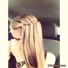 cool waterfall braids - 99 Hairstyles Ideas