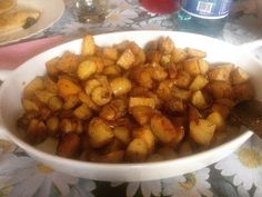 Patate novelle al forno! Super splurp!!! #patate #vegan
