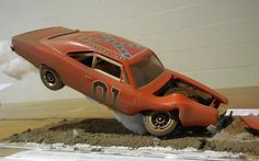 Dodge Charger Dukes Hazzard General Lee Barn Find Weathered 1 43