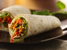 Betty Crocker's Diabetes Cookbook shares a recipe! Wrap up lunch with prep grab-and-go sandwiches.Asian Chicken Roll-Ups. Diabetic Cookbook, Diabetic Recipes, Low Carb Recipes, Cooking Recipes, Diabetic Foods, Pre Diabetic, Healthy Foods, Paleo Food, Healthy Recipes