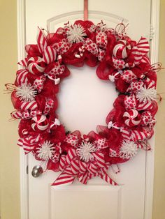 Extra Large Christmas Wreath. Love it!!