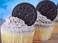 Cupcakes de Negresco - Veja como fazer em: http://cybercook.com.br/receita-de-cupcakes-de-negresco-r-12-13712.html?pinterest-rec