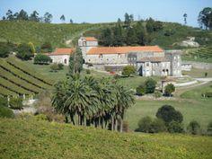 Pazo de Baión. Albarño winery.