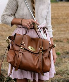 Alexa bag from Mulberry - brown is so versatile, casual, professional, beautiful bag