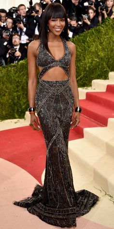 See All the Best Looks from the 2016 Met Gala Red Carpet - Naomi Campbell  - from InStyle.com