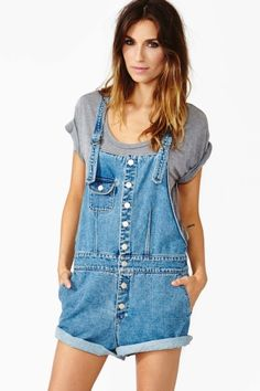 Bambi Denim Overalls by #FriendOfMine