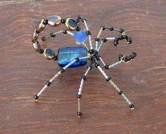Beaded Scorpion