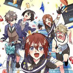 埋め込み Ensemble Stars, Knight, Beautiful Pictures, Anime, Geek Stuff, Fan Art, Manga, Fairy Tail, Drawings