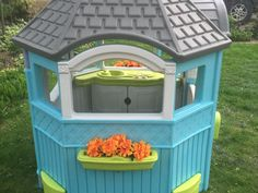 Playhouse Ideas, Back Yard, Playhouses. Little Tikes ...
