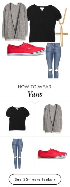 """Untitled #53"" by disney13761 on Polyvore featuring Vans, Palm Beach Jewelry, Topshop, LOFT and MANGO"