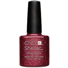 CND SHELLAC UV Color Coat - Starstruck Collection - Garnet Glamour / 0.25oz - CND Starstruck Collection Glamorous. Radiant. Show-stopping. Discover the new glitter collection. CND SHELLAC brand 14+ day nail color was designed to be used as a system featur